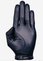 Asher Golf: Mens Premium Golf Glove - Navy Sueded