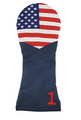 Smathers & Branson: Driver Needlepoint Golf Headcover - Big American Flag