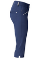 Daily Sports: Women's Miracle Capri - Crown Blue (Size: 8) SALE