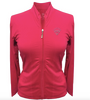 Titania Golf: Women's Jacket - Diamond (Hot Pink, Size: Small) SALE
