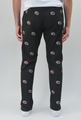 Pennington & Bailes: Men's Embroidered Stadium Pants - University of South Carolina Black (Size 36) SALE