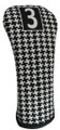 BeeJo's: Golf Headcover -  Classic Hounds-Tooth Print Golf (3 Fairway) SALE