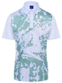 Twin Peaks Mens Golf Polo Shirt by ReadyGOLF