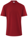 ReadyGOLF Mens Mock Neck Coolmax Polo Shirt - RED
