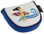 ReadyGolf: Surfer Girl Embroidered Putter Cover by ReadyGOLF - Mallet