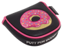 Putt for Dough-Nuts Embroidered Doughnut Putter Cover - Mallet