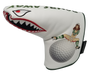 Bombs Away! Embroidered Putter Cover - Blade by ReadyGOLF