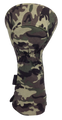 Camo Embroidered Driver Headcover by ReadyGOLF - Deer Hunter