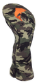 Camo Embroidered Driver Headcover by ReadyGOLF - Fishing