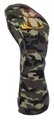 Camo Embroidered Driver Headcover by ReadyGOLF - 19th Hole Dancing Gopher