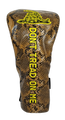 Don't Tread On Me Embroidered Snakeskin Driver Headcover by ReadyGOLF