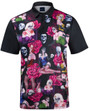Day of The Dead Mens Golf Polo Shirt by ReadyGOLF