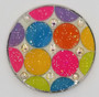 Loudmouth: Ball Marker & Hat Clip - Disco Balls White by Navika
