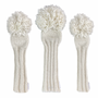 Sunfish: Hand-Knit Classic Headcovers - White Out All White
