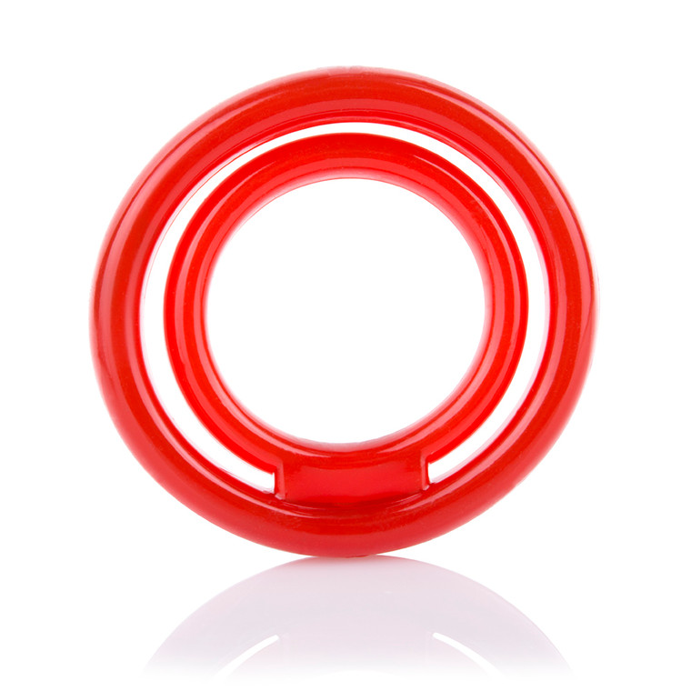 Screaming O RingO 2 Double Erection Ring Red (RNG2-R-101)
