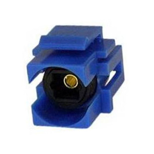 CLOSEOUT - Keystone Toslink Optical Audio Connector, Blue