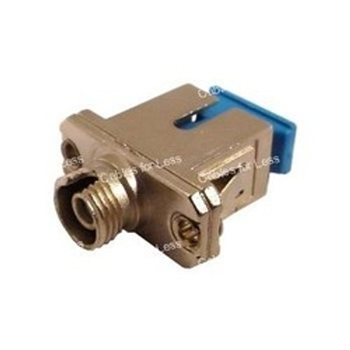 CLOSEOUT - Fiber Coupler, Metal Simplex, FC/SC, Female To Female