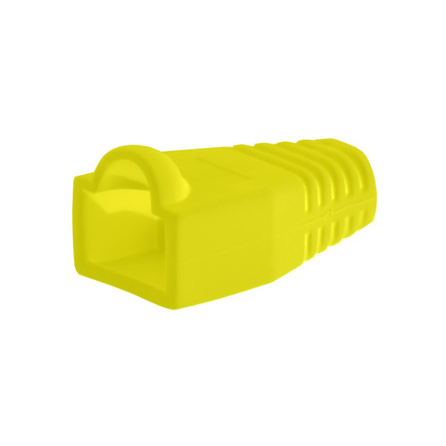 Bag Of 50 RJ45 Cat6 Boots - Yellow