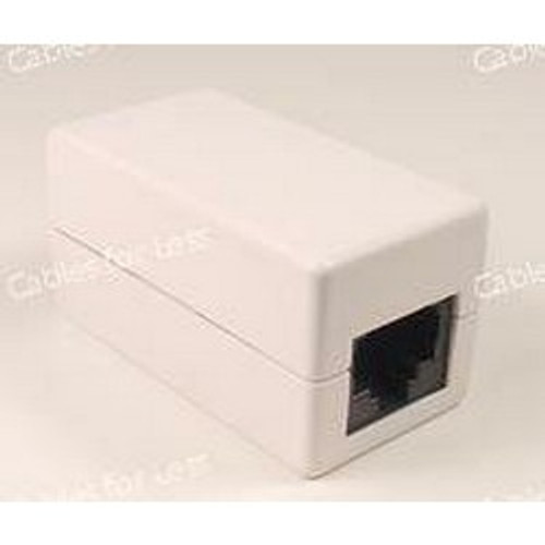 Coupler, Cat5, RJ45 8P8C, F/F, May Be Black Or White