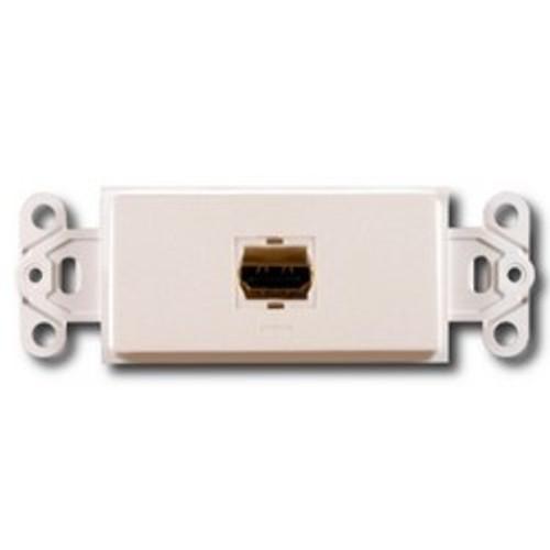 CLOSEOUT - PowerBridge Decora Insert, Single HDMI