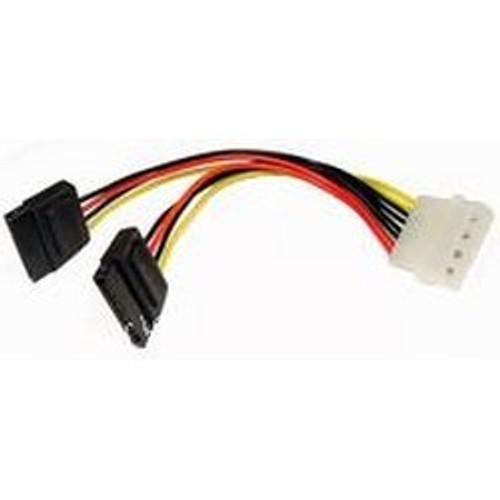 Cable, Serial ATA, Power-Y Adapter, 5.25 Inch To 2 X Serial ATA, 6 Inch