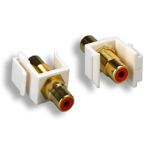 Keystone Red RCA Gold Plated