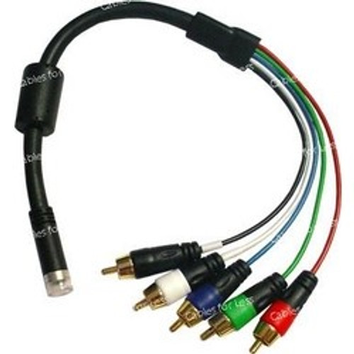 CLOSEOUT - EZ Install Interface-RGB+HV RCA Cable End