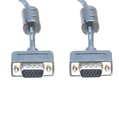25 Foot M/M Slim SVGA Cable