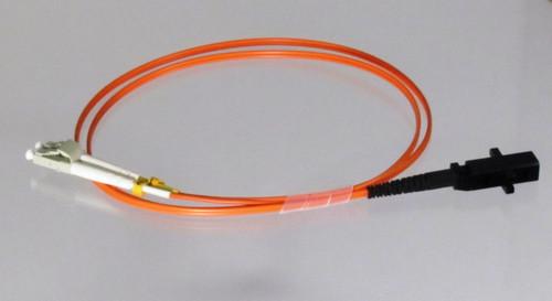 Overstock Custom 1 Meter Fiber OM1 Multimode  Duplex, LC-MTRJ (Male)