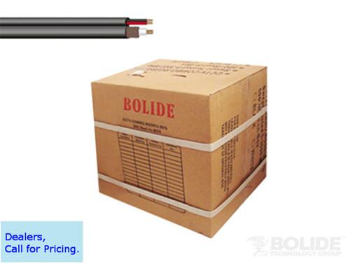 CLOSEOUT - Supreme Grade 1000 ft Black Combo Cable RG59 18-2 CL 95 percent Copper UL