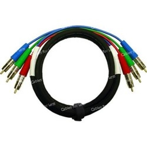 Super High Quality 4 Foot Custom, RGB Component Video Cable