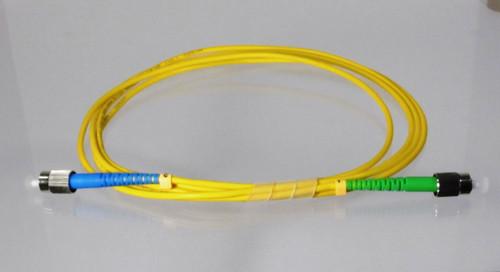 Overstock Custom  2 Meter Fiber Singlemode Simplex  FC-APC to FC-UPC