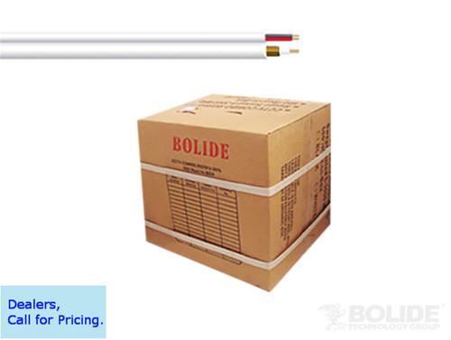 CLOSEOUT - Supreme Grade 1000' White Combo Cable (RG59 +18/2 CL 95% Copper) UL