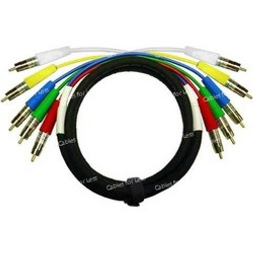 Super High Quality 20 Foot Custom, RGBHV Component Video Cable