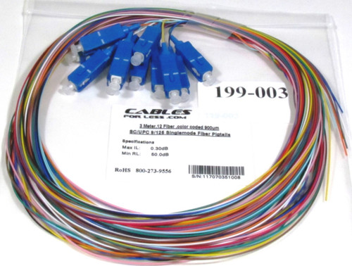 SC UPC Singlemode Fiber Pigtail