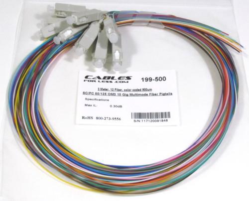 OM3 10 Gig Multimode Fiber Pigtail