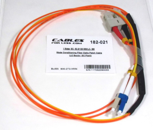 Mode Conditioning Fiber Optic Patch Cable
