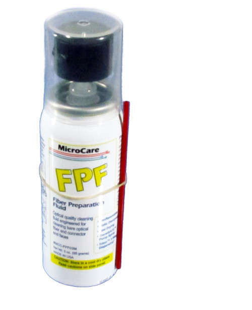 For cleaning end-faces or before splicing 3 oz. pump spray