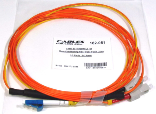 SC- 50/125 MM/LC- SM Mode Conditioning Fiber
