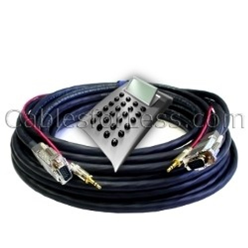 Cable Calculator: Plenum SVGA with 3.5mm Audio