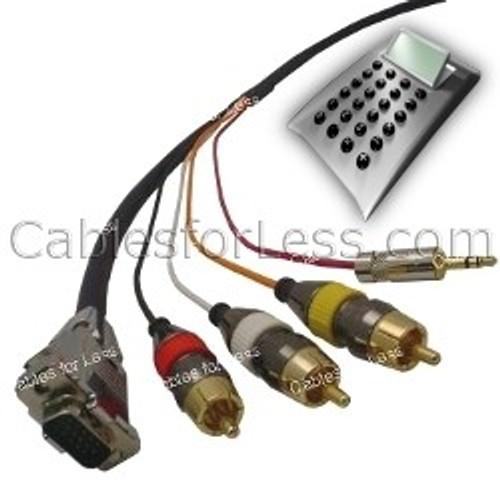 Cable Calculator: Plenum SVGA with 3.5mm Audio + Composite Audio/Video