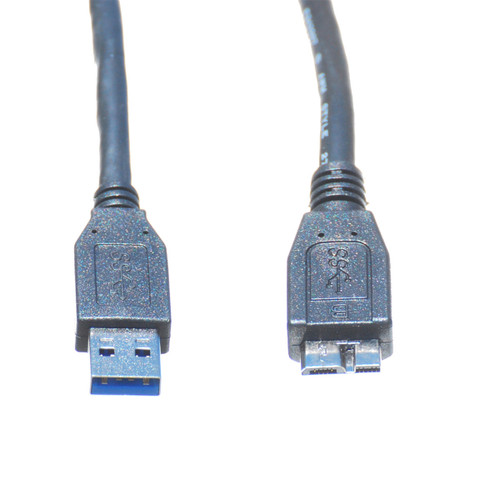3ft USB 3.0 A Male to Micro B Male Cable