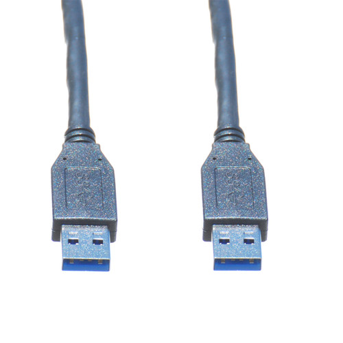 6ft USB 3.0 A Male to A Male Cable, Black