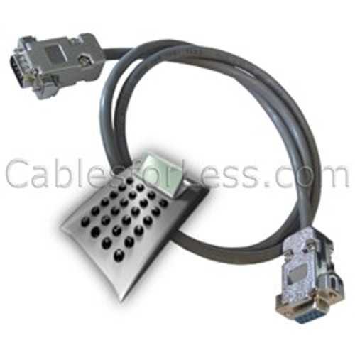 Cable Calculator: 9-Wire Serial / Null Modem Cable