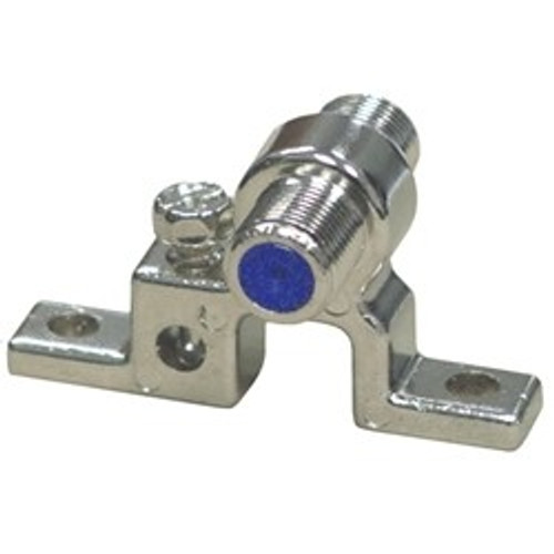 CLOSEOUT - Single Ground Block with Ground Screw
