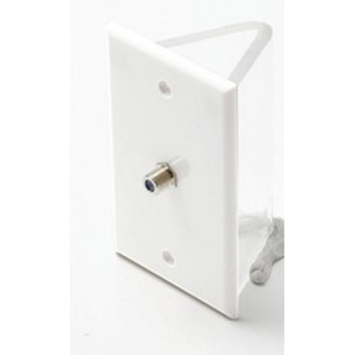 CLOSEOUT - TV Wall Plate Single