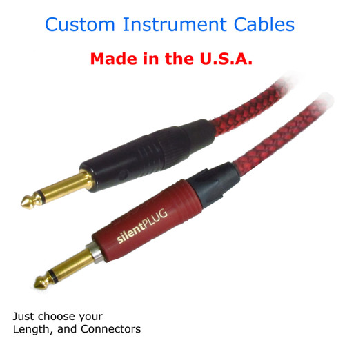 Shielded Guitar Cable - Silent and Hand Made