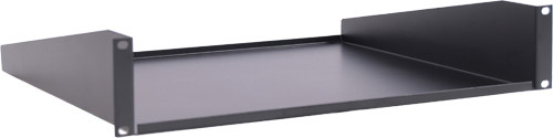 "2U NON-VENTED SHELF SINGLE SIDE, 15.7"" DEPTH"