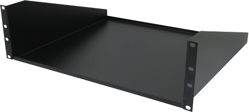 "3U NON-VENTED SHELF SINGLE SIDE, 15.7"" DEPTH"
