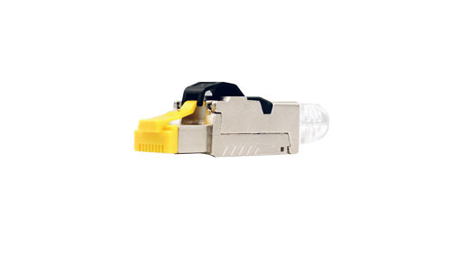 CAT6A Shielded Plug   For Solid Cable (CAT6 and CAT6A) - Qty. One